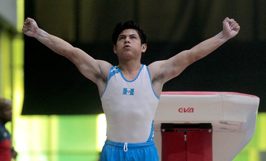 El atleta guatemalteco Jorge Vega mantiene varios objetivos para alcanzar la meta de participar en los Juegos Olímpicos de Tokio 2020. (Foto Prensa Libre: Comité Olímpico Guatemalteco)