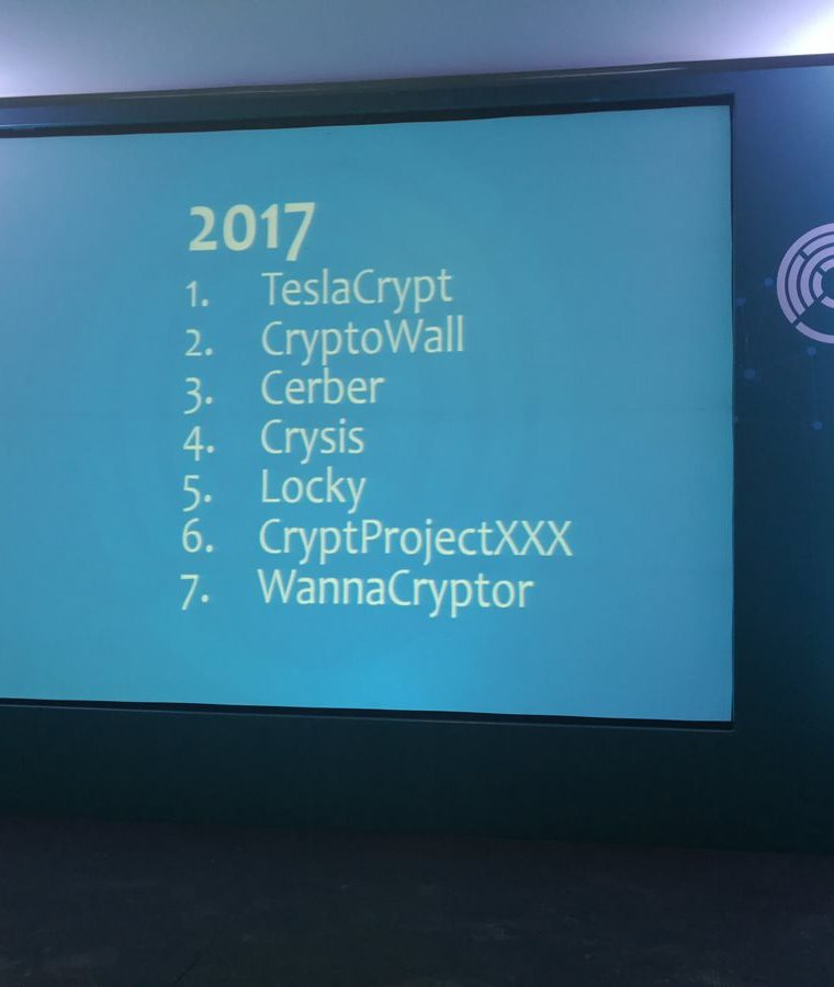Estos son los ransomware más detectados en Latinoamérica, según el Laboratorio de ESET. (Foto Prensa Libre: Brenda Martínez)