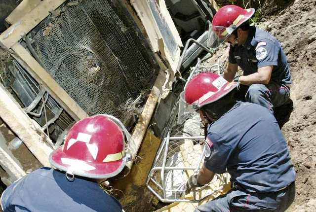 En maquinaria y transporte agrícola ocurren varias lesiones. (Foto Prensa Libre: Hemeroteca PL)