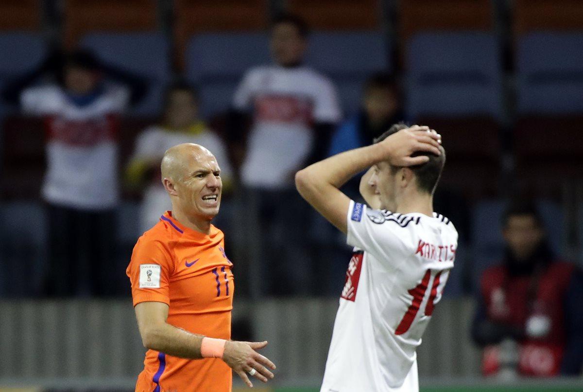 ¿Anotarle siete goles a Suecia? Robben ya no cree en el milagro de Holanda