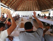 Los delegados de la Asamblea del Futbol avalaron las recomendaciones que la CDAG le hizo a los estatutos de la Fifa, pese a que ya los habían aceptado desde el 25 de julio del 2017 (Foto Prensa Libre: Francisco Sánchez)