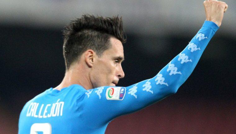 Callejón mantiene su buen nivel en la Serie A italiana. (Foto Prensa Libre: AFP)