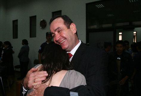 El ex director de Presidios Alejandro Giammattei ya no será juzgado por ejecución extrajudicial.