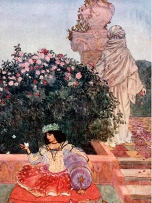 """Oscar Wilde describió al Rubaiyat como """"una obra de arte"""", ubicándolo al lado de los sonetos de Shakespeare como uno de sus grandes amores literarios. ALAMY"""