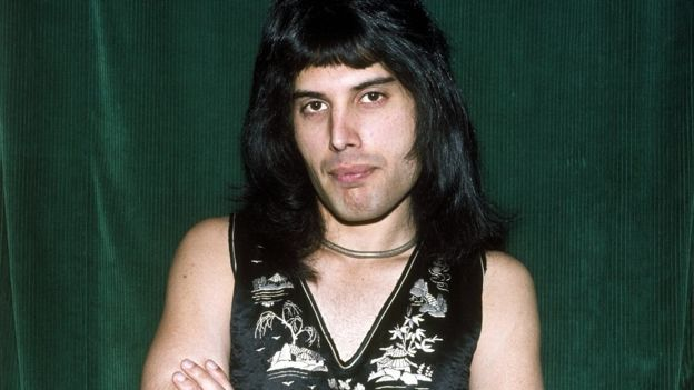 Freddie Mercury fue la celebridad más buscada en México. (GEORGE WILKES ARCHIVE/GETTY IMAGES)