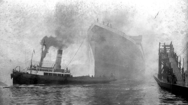 Britannic, el hermano del Titanic que se hundió en la Primera Guerra Mundial