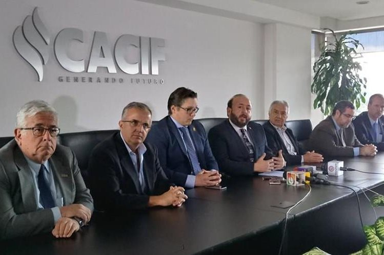 Integran Junta Directiva del Cacif para el periodo 2018-2019