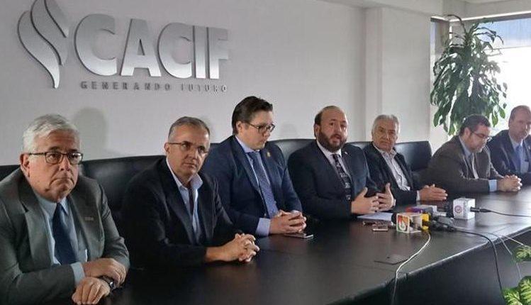 La nueva Junta Directiva del Cacif fue integrada este lunes para el periodo 2018-2019. (Foto: HemerotecaPL)
