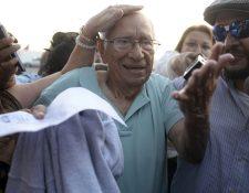 José Guillermo García, exministro de Defensa vinculado a violaciones a los derechos humanos. (Foto Prensa Libre: AFP).