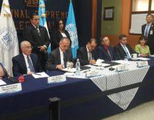 El 16 de agosto de 2018, la Cicig y el TSE firmaron un convenio de cooperación. (Foto Prensa Libre: Hemeroteca PL)