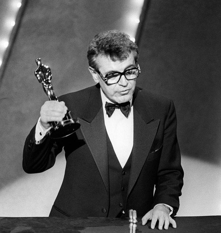 """Milos Forman obtuvo un Óscar en 1985 por su película """"Amadeus"""", en la 57 edición de los Premios de la Academia en Hollywood.  (Foto Prensa Libre: AFP)"""