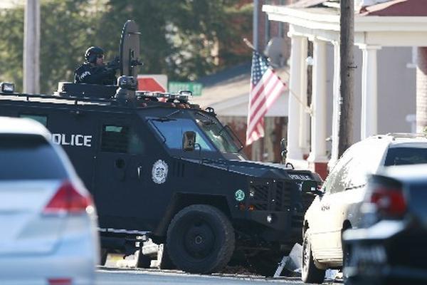 Bradley Michael Stone, supuesto autor del crimen de seis personas en Pennsylvania, es buscado por la policía. (Foto Prensa Libre: AP.)