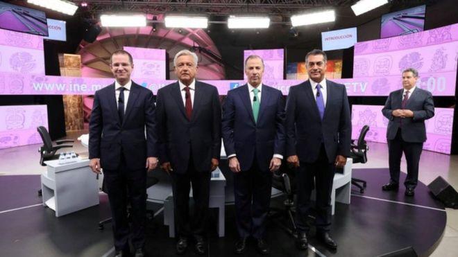 El tercer debate fue la última oportunidad de los candidatos a la presidencia de medir sus fuerzas en público. REUTERS.