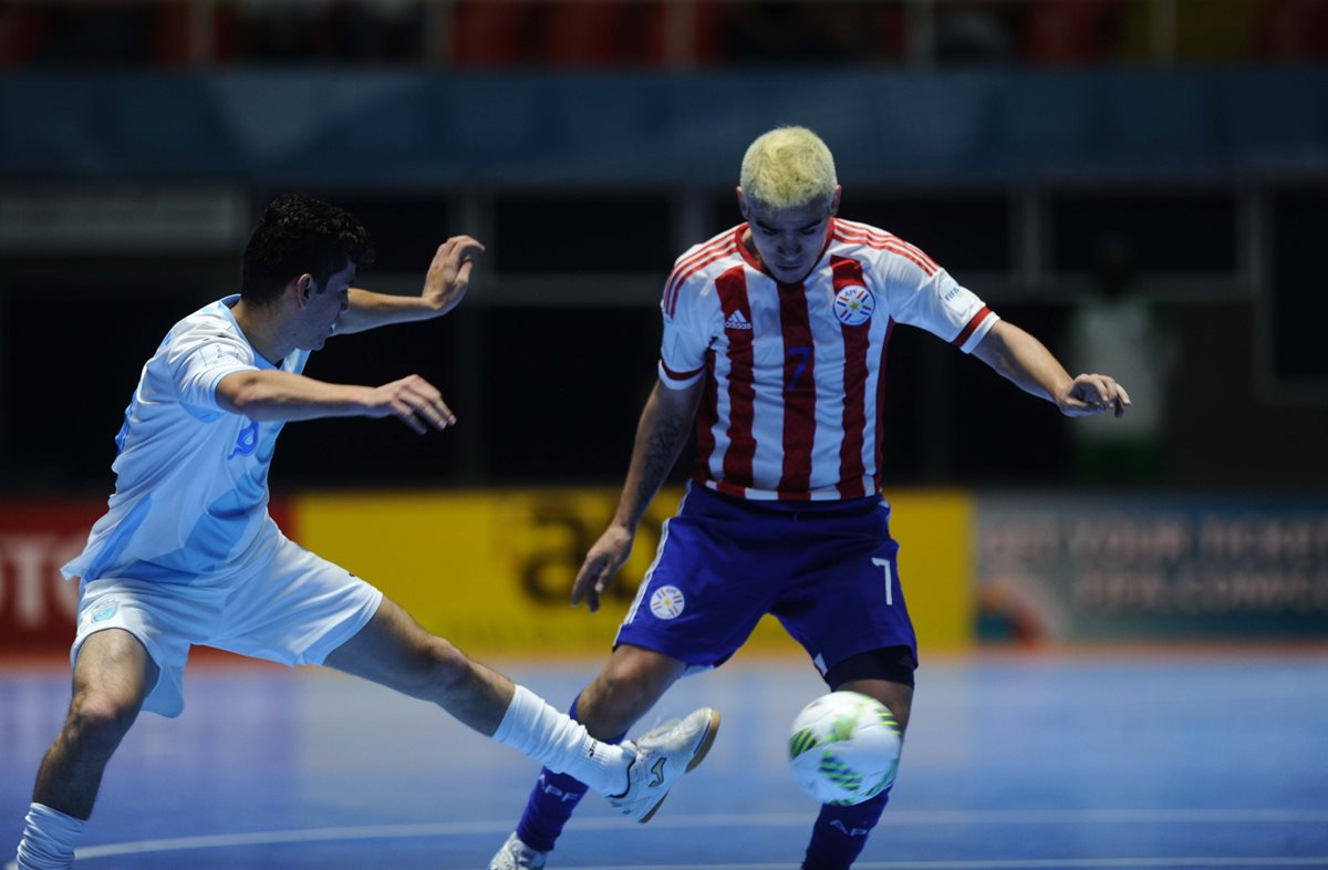 Guatemala se despide del Mundial de Futsal