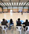 La poca afluencia de votantes a marcado la jornada de la consulta popular. (Foto Prensa Libre: Carlos Hernández)