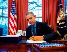 El presidente de Estados Unidos Barack Obama se mostró satisfecho con la aprobación. (Foto Prensa Libre: EFE)
