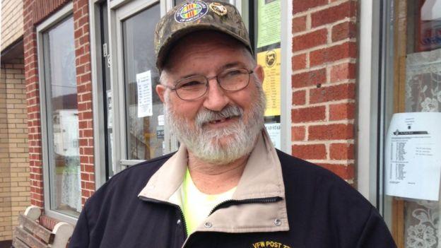 """Robert Clites, un residente de Hyndman, recuerda a Sivits como """"un chico cortés""""."""