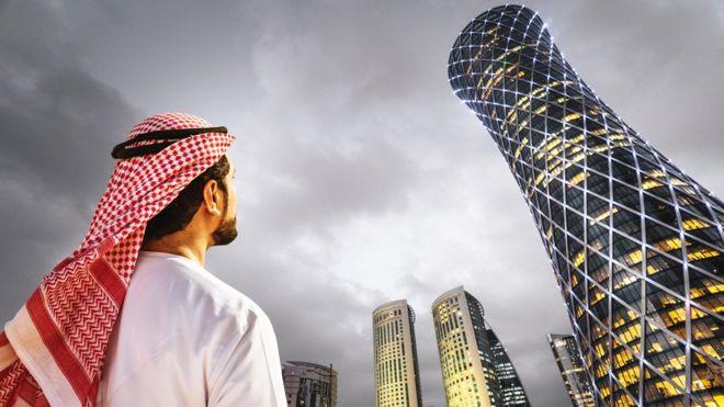 Los qataríes tienen la mayor capacidad de compra del mundo. GETTY IMAGES