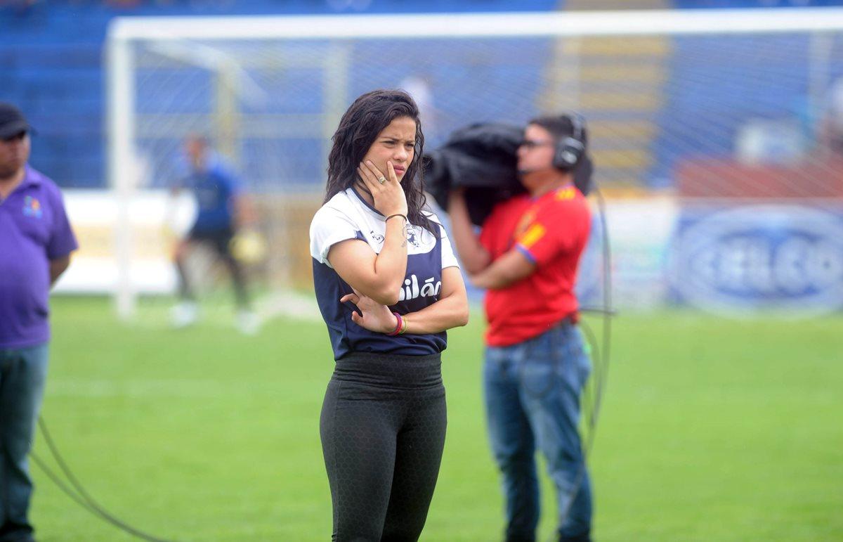 Laura Bariatti se ha despedido de Suchitepéquez. (Foto Prensa Libre: Edwin Fajardo)