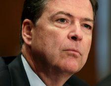 James Comey, director del FBI, descarta las acusaciones de Trump contra Obama. (Foto Prensa Libre: AFP)