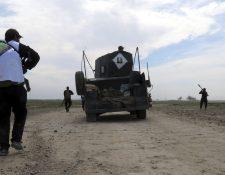Autoridades acusan abiertamente al EI de utilizar armas químicas en Irak y Siria, específicamente gas mostaza. (Foto Prensa Libre: EFE).
