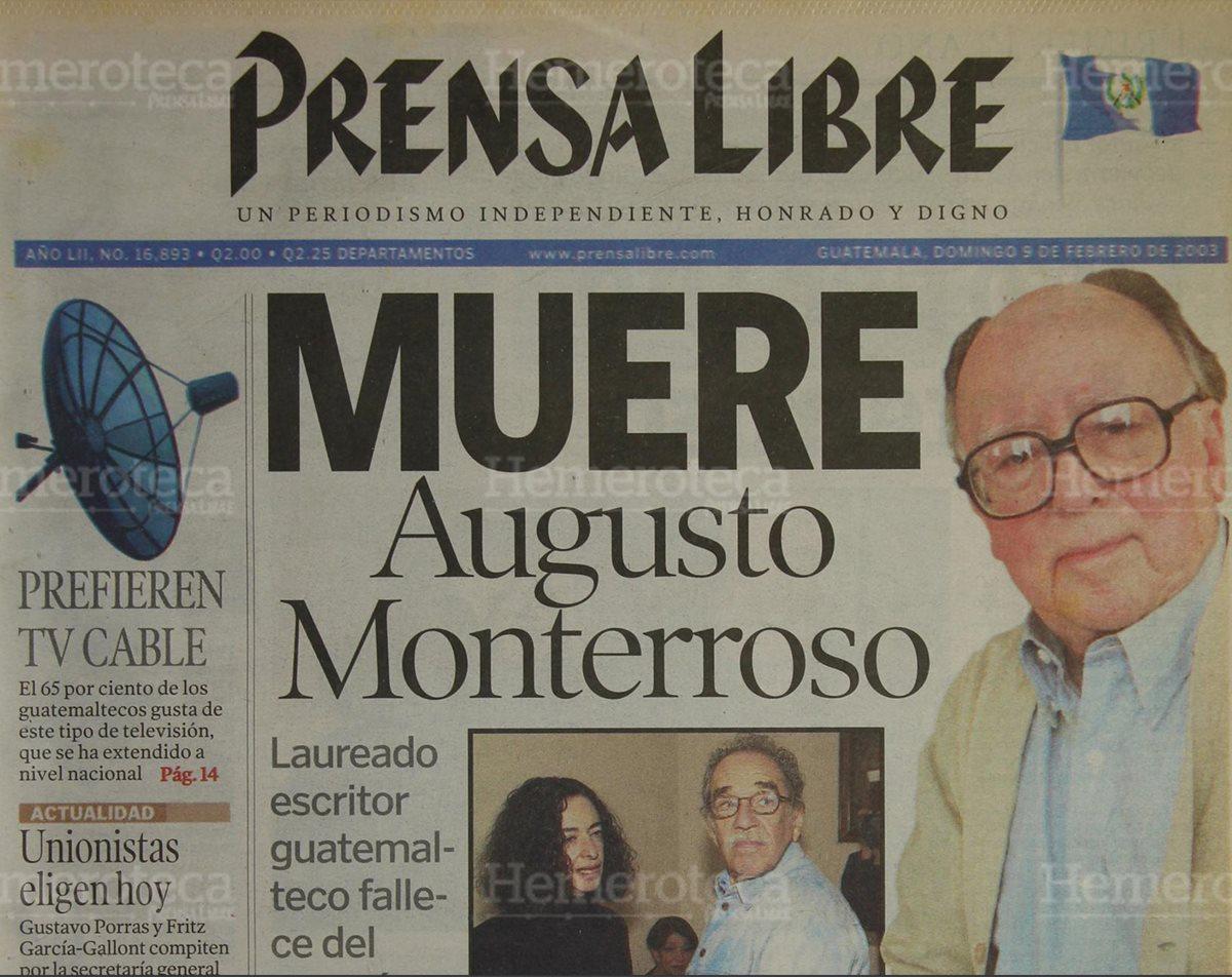 Augusto <em>Tito</em> Monterroso: un escritor revolucionario