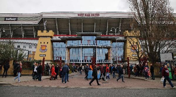 El equipo del West Ham ocupa la sexta posición en 32 jornadas de la liga inglesa. (Foto Prensa Libre: AFP)