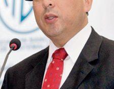 Sergio Recinos, presidente de la JM.