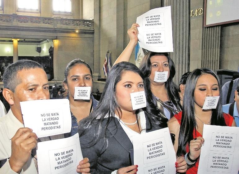 Once periodistas fueron asesinados en nueve meses, según Cerigua