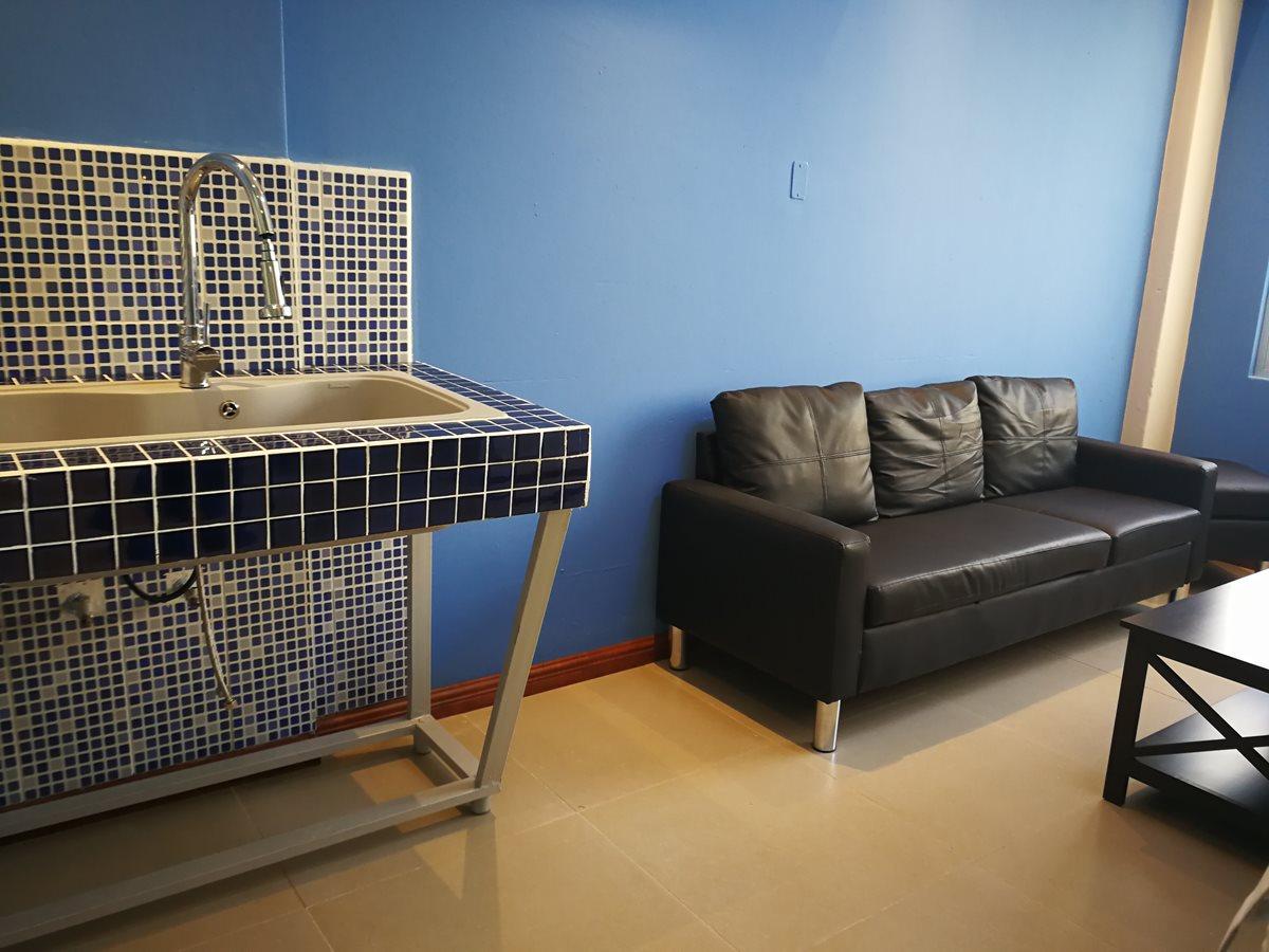 La clínica tiene una sala de espera. (Foto Prensa Libre: Ana Lucía Ola)