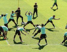 Los seleccionados de Portugal se preparan con emoción para la final. (Foto Prensa Libre. EFE)