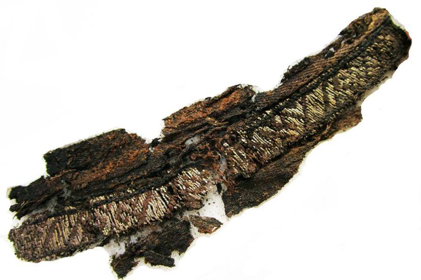 """¿Por qué los vikingos tenían la palabra """"Alá"""" bordada en ropa usada en funerales?"""