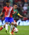 Márquez enfrentó a Costa Rica el viernes pero no podrá estar contra Trinidad y Tobago. (Foto Prensa Libre: AFP)