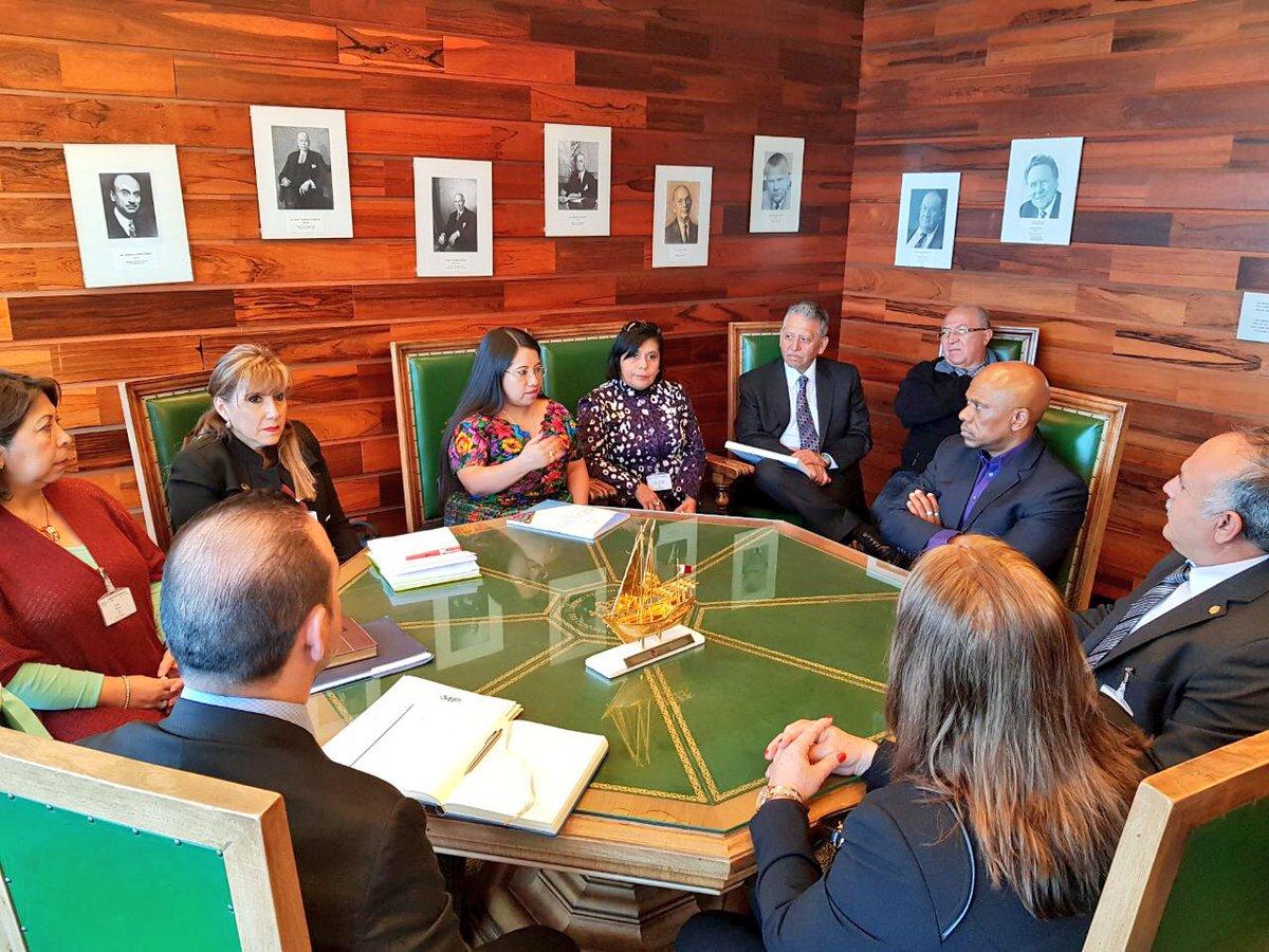 La OIT postergó el envío de una comisión de investigación para Guatemala, por los avances expuestos por autoridades de gobierno. (Foto Prensa Libre: Mintrab)