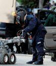 (Imagen de referencia). Los robots son utilizados por departamentos de policía de muchos países en el mundo. (Foto Prensa Libre: Hemeroteca PL).