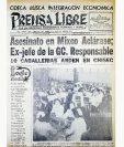 Portada de PL del 13 de mayo de 1955, del Día de la Enfermera. (Foto: Hemeroteca PL)