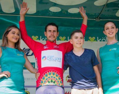 El ciclista guatemalteco Julio Padilla destacó en la 54 Vuelta a Costa Rica. (Foto Prensa Libre: Federación Guatemalteca de Ciclismo)