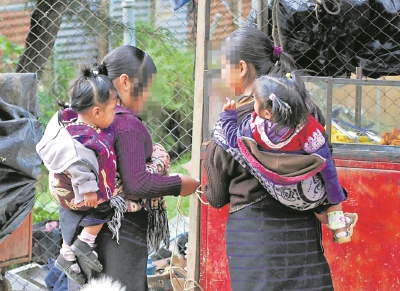 Se registra un alza de niñas que se convierten en madres, en el primer trimestre del año van 640 casos. (Foto Prensa Libre: Hemeroteca PL)
