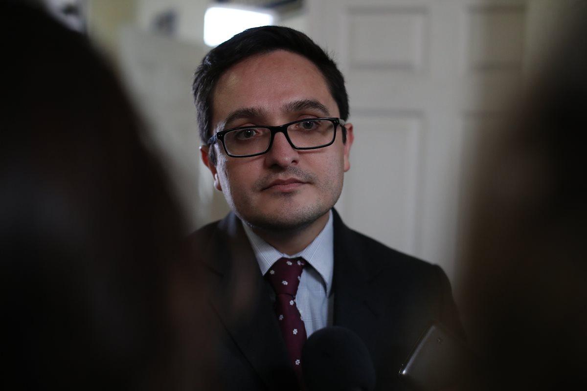 Juan Francisco Sandoval, jefe de la Fiscalía Especial contra la Impunidad (Feci), del Ministerio Público. (Foto Prensa Libre: Hemeroteca PL)