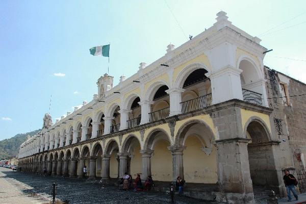 Real Palacio de la Capitanes  Generales de Antigua Guatemala, Sacatepéquez.
