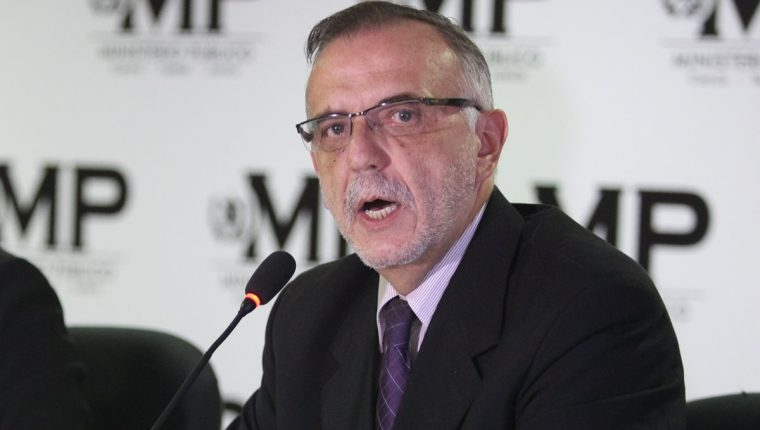 Iván Velásquez pidió la restitución del personal de la Digici y pidió explicaciones al respecto a Gobernación. (Foto Prensa Libre: Hemeroteca PL)