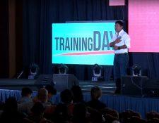 El emprendedor guatemalteco Marcos Andrés Antil, fue uno de los conferencistas invitados durante el Training Day 2017. (Foto Prensa Libre: Cortesía)