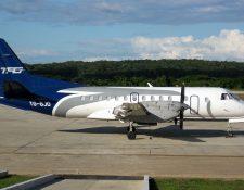 Tag Airlines aclaró que las frecuencias vigentes de lunes a domingo hacia Belice con escala en el aeropuerto Mundo Maya, se mantienen sin cambio. (Foto Prensa Libre: Cortesía TAG)