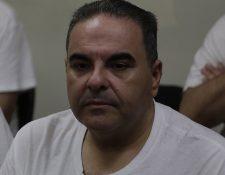 Elías Antonio Saca reacciona durante quinto día de juicio (Foto Prensa Libre: EFE)