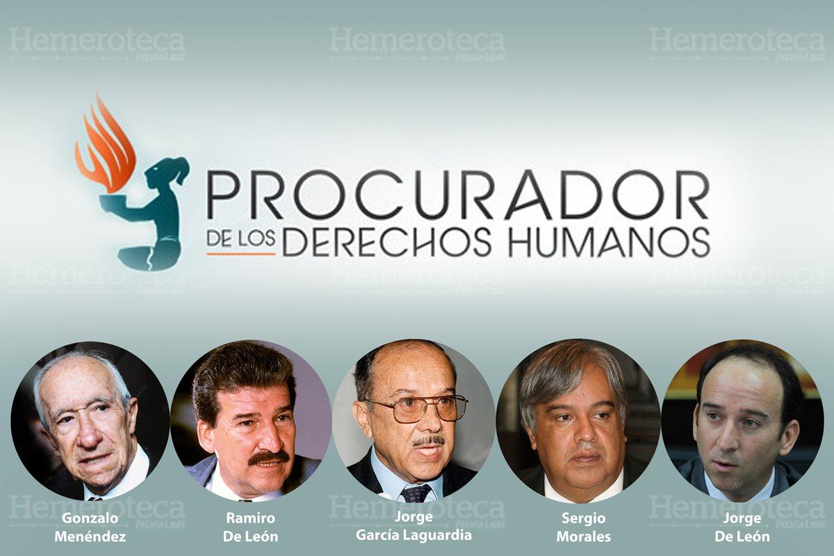 1987: asume primer Procurador de los Derechos Humanos