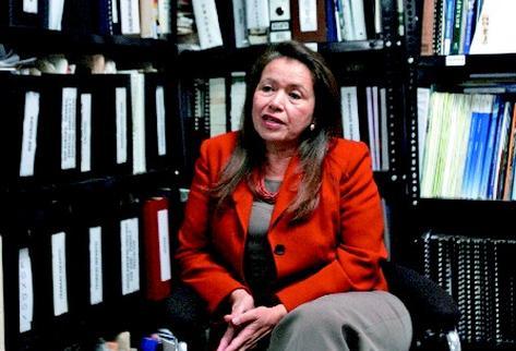Fanny D. Estrada, directora ejecutiva de Agexport opina que país no puede perder competitividad. (Foto Prensa Libre.: Archivo)