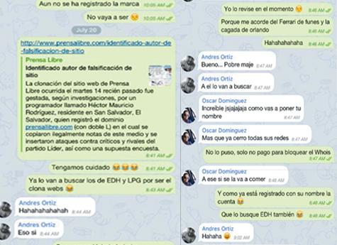 Grupo de piratas informáticos son descubiertos por burlarse del clonador de Prensa Libre.com