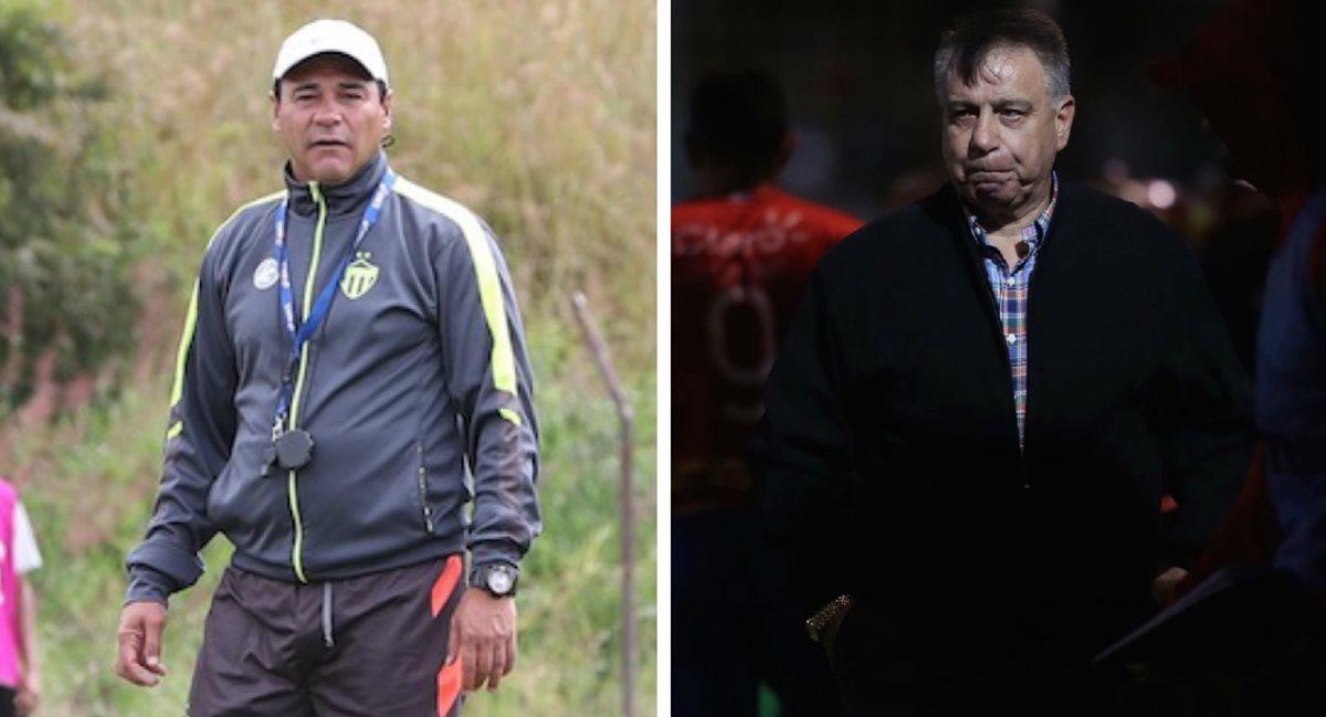 Mauricio Tapia y Éver Almeida se han enfrentado en una ocasión, el partido terminó empatado. (Foto Prensa Libre: Hemeroteca PL)