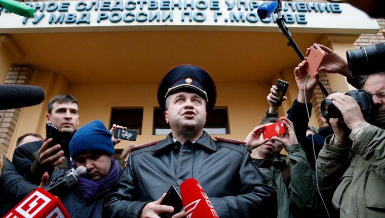 Los internacionales rusos Pavel Mamaev y Alexander Kokorin pasaron a disposición policial por 48 horas después de la agresión que sufrió un alto funcionario en un café en Moscú, anunció este miércoles la policía rusa. (Foto Prensa Libre: AFP)