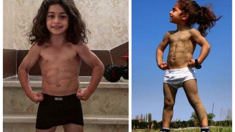 Arat publica fotografías presumiendo su sorprendente físico. (Foto Prensa Libre: Instagram @arat.gym)